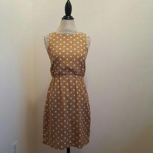 J. Crew polka dots dress